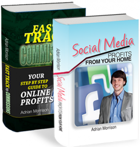 Adrian Morrison's books published on social media marketing.